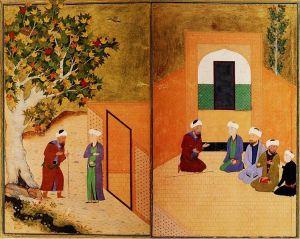 749px-Sadi_and_the_youth_of_kashgar_Bukhara_1547